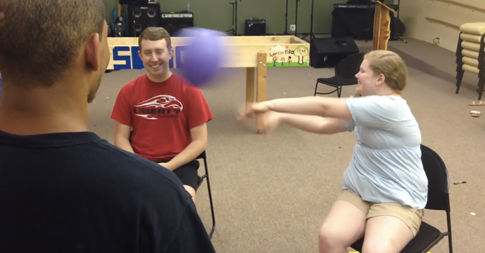 blindfolded games for youth group