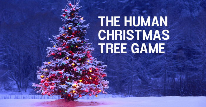 heres a fun youth group game called the human christmas tree this game is a perfect add on to an upcoming christmas event or service - Christmas Tree Decoration Games