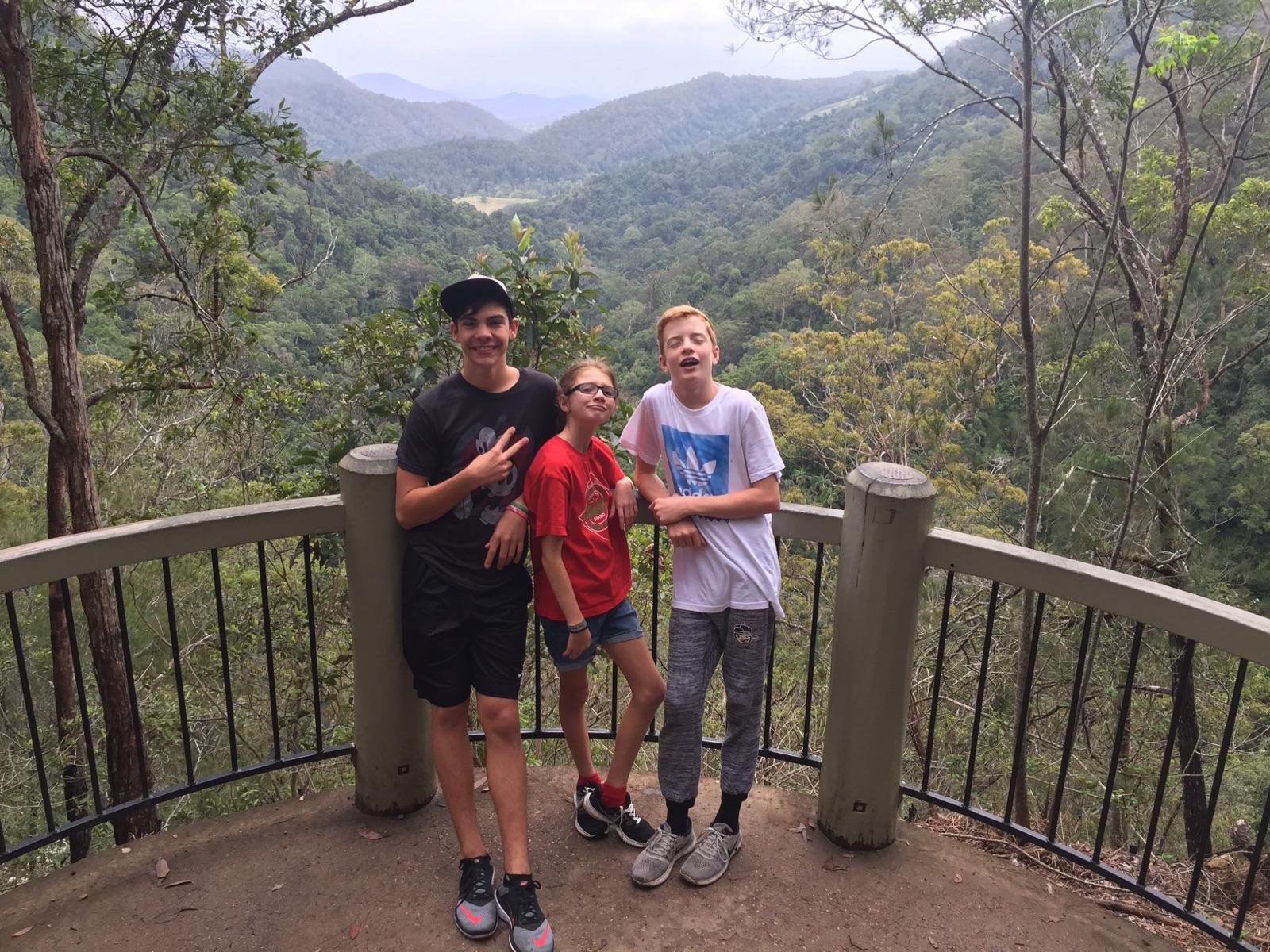 Family Trip to Kondalilla National Park